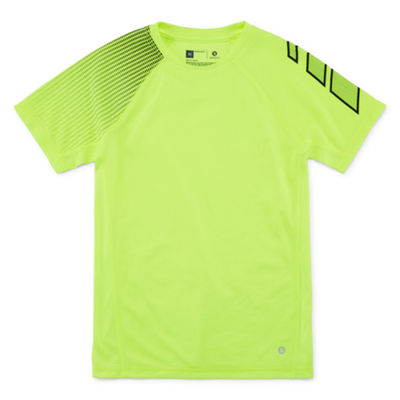 Xersion Short Sleeve Trainer Top Short Sleeve Crew Neck T-Shirt Boys