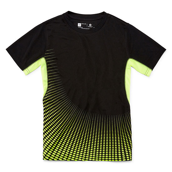 Xersion Short Sleeve Trainer Top Boys Crew Neck Short Sleeve T-Shirt Preschool / Big Kid