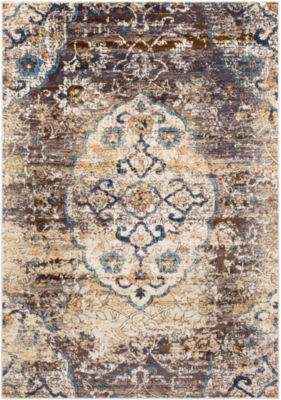 Ghulam Floral Area Rug