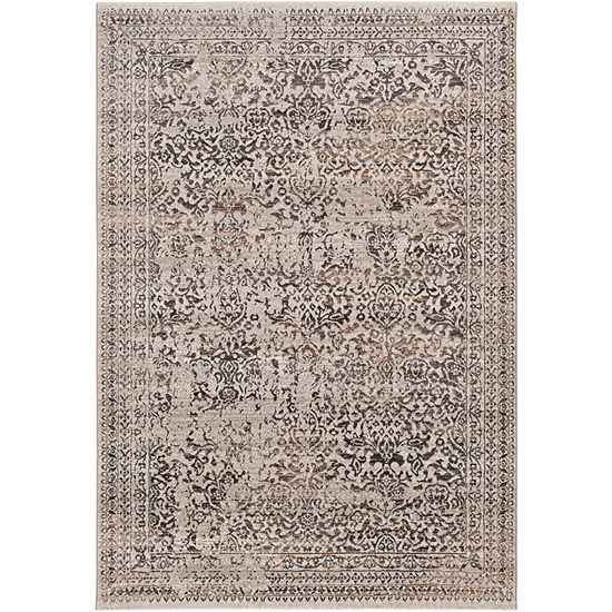 Edhil Damask Area Rug