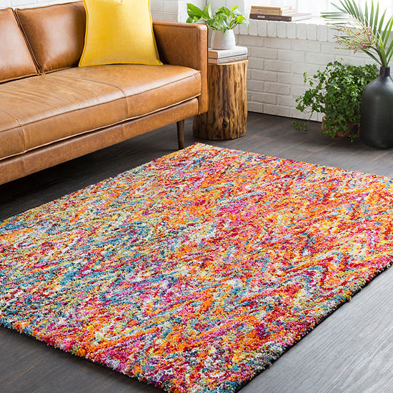 Glenavon Pink Gray Area Rug Jcpenney