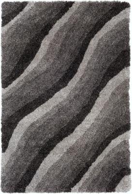 Herisson Black Area Rug
