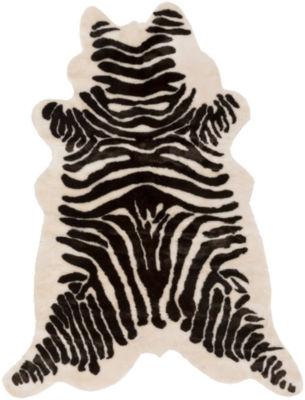 Hiroshe Black & White Area Rug