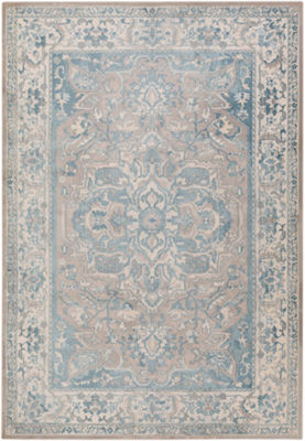 Iram Blue Medallion Area Rug