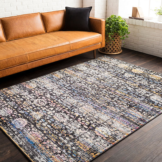 Jahnke Damask Area Rug