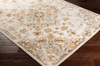 Lilian Gray Medallion Area Rug