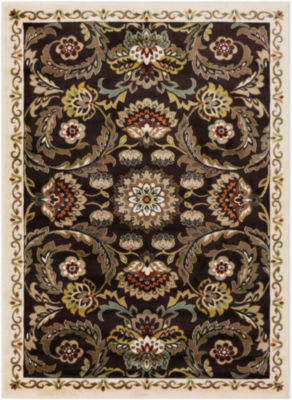 Lillianna Damask Area Rug