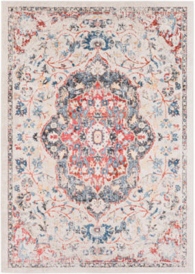 Loreto Cream Medallion Area Rug