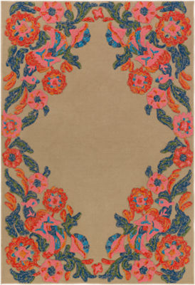 Levett Floral Area Rug