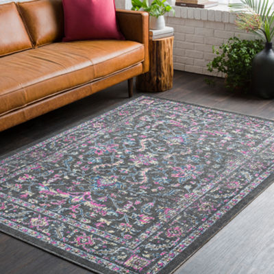 Lulan Damask Area Rug
