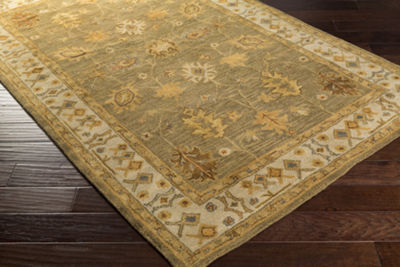 Decor 140 Madelynn Damask Round Area Rug
