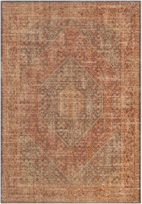 Decor 140 Magalia Gray-Brown Medallion Area Rug
