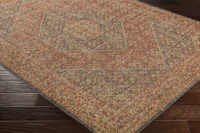 Decor 140 Magalia Gray-Brown Medallion Area Rug