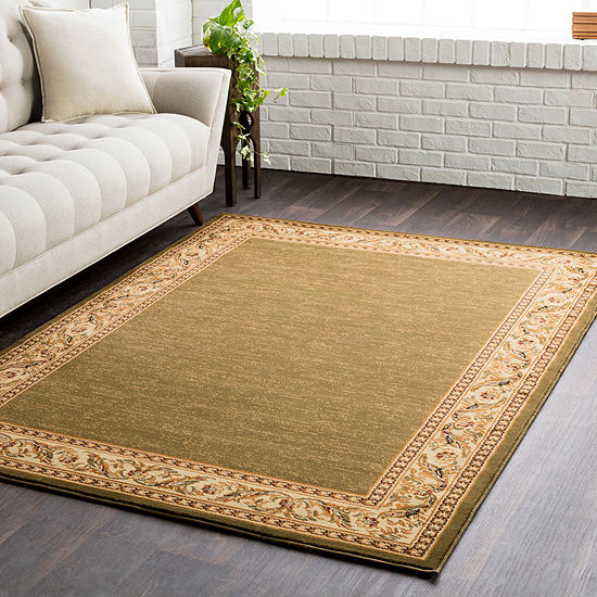 Liisu Bordered Area Rug