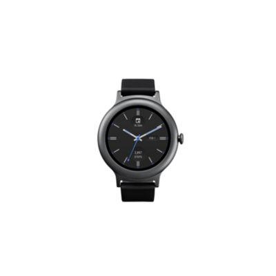 LG Style Titanium/Black Smart Watch-LGW270AUSATN