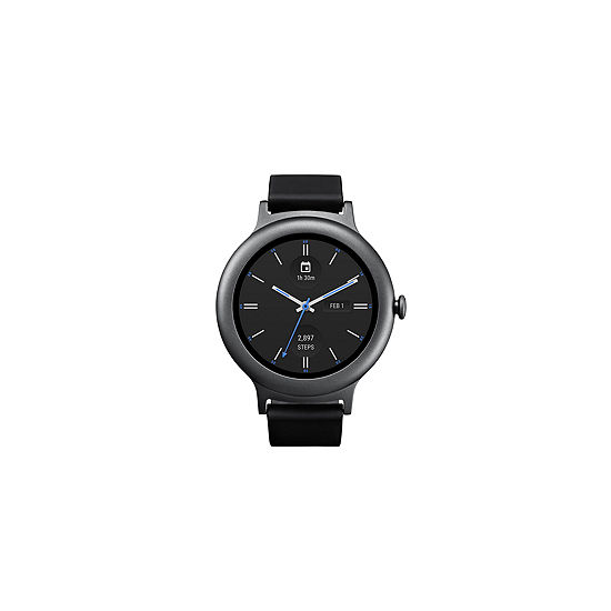 LG Style Titanium/Black Smart Watch-LGW270AUSATN