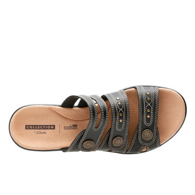 Clarks Womens Leisa Lakia Slide Sandals