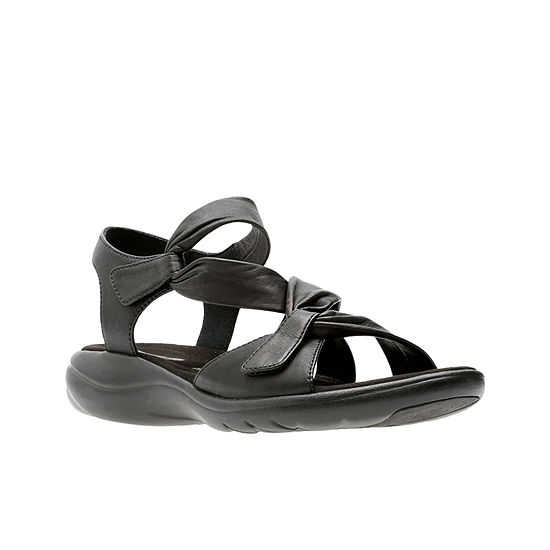 bc3bb08d74e7 Clarks Saylie Moon Womens Strap Sandals JCPenney