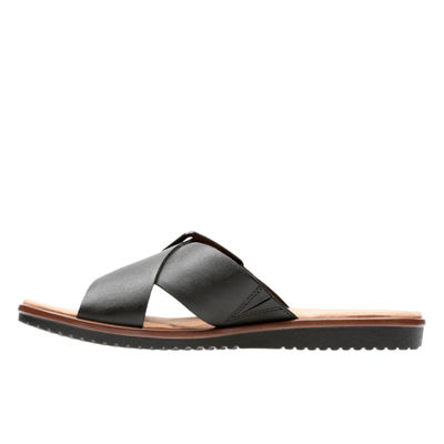 Clarks Womens Kele Heather Slide Sandals