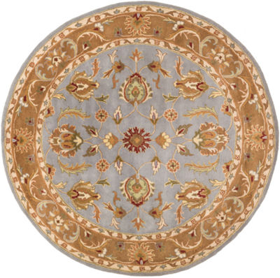 Decor 140 Marisya Damask Round Area Rug