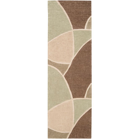Decor 140 Maru Geometric Area Rug, One Size , Green