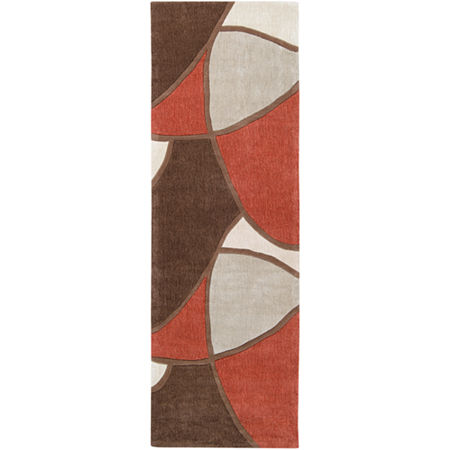 Decor 140 Maru Geometric Area Rug, One Size , Red