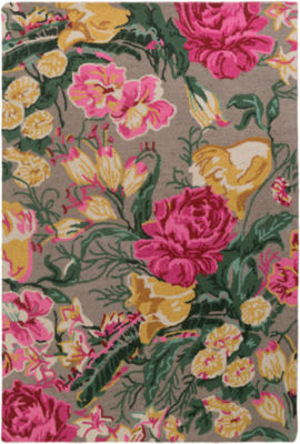 Mcdowell Floral Area Rug
