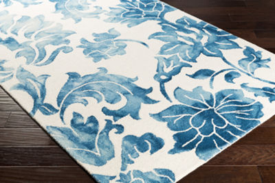 Lacey Floral Area Rug