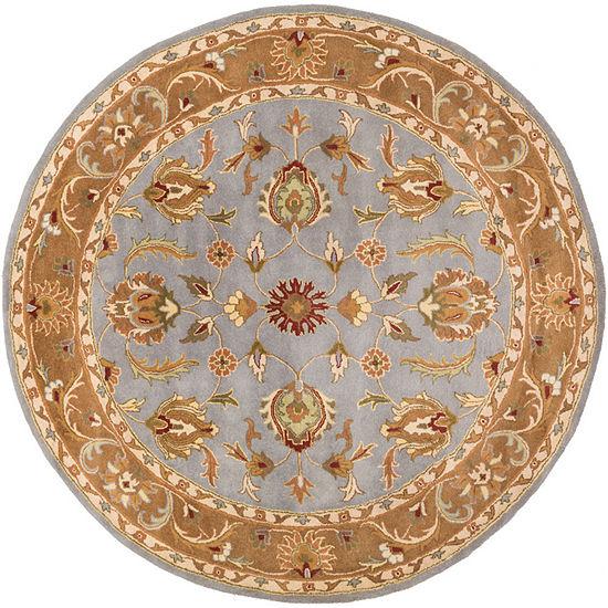 Decor 140 Marisya Damask Round Area Rug