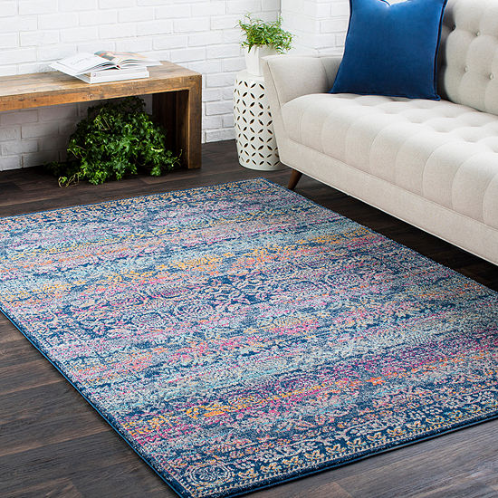 Martell Multi-Colored Medallion Area Rug