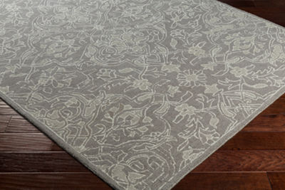 Kierra Damask Area Rug