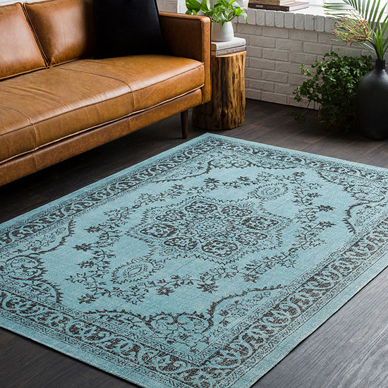 Russell Medallion Area Rug