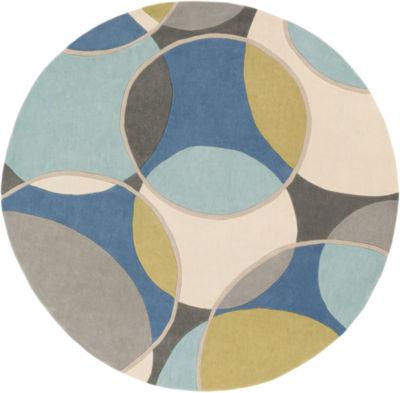 Montello Geometric Round Area Rug