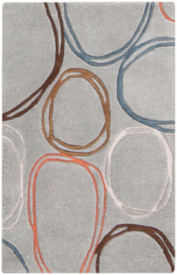 Mysterna Gray-Brown Area Rug