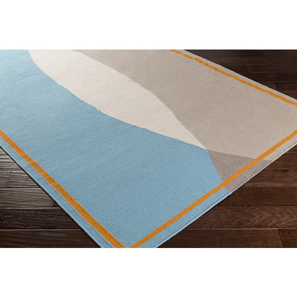 Riften Blue Area Rug