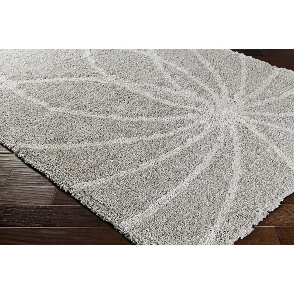 Natsuko Neutral Geometric Area Rug