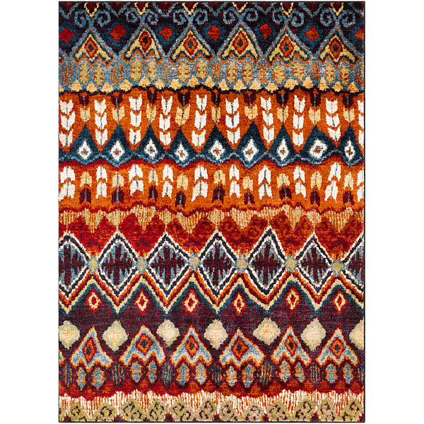 Nele Multi-Colored Oriental Area Rug