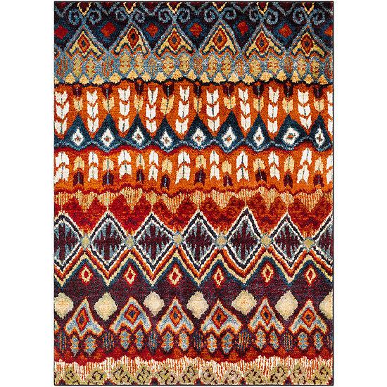 Nele Multi-Colored Oriental Area Rug
