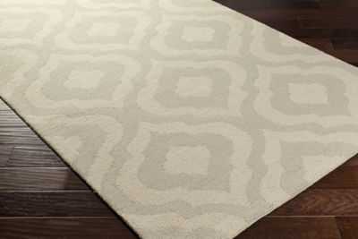 Sherlyn White Area Rug