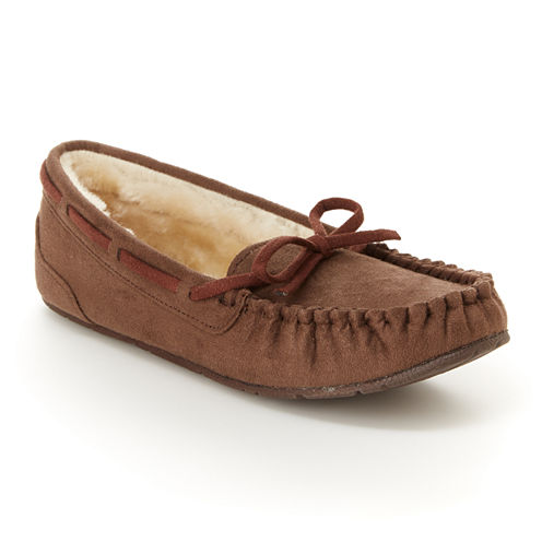Unionbay Womens Moccasins Slip-on