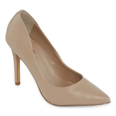 Style Charles Womens Pio Pumps Slip-on Pointed Toe Stiletto Heel