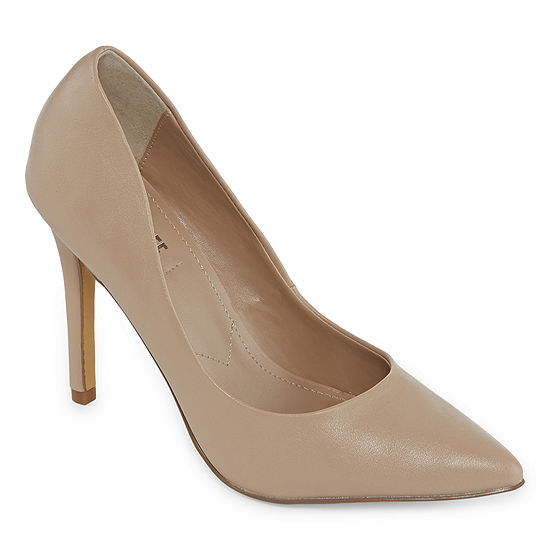 Style Charles Womens Pio Pumps Pointed Toe Stiletto Heel