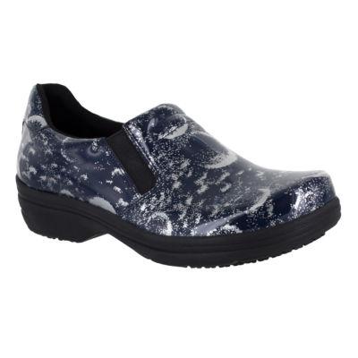 Easy Works By Easy Street Womens Bind Slip-On Round Toe Shoe