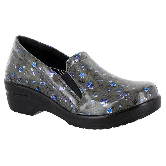 Easy Works By Easy Street Womens Leeza Slip-On Shoe Round Toe