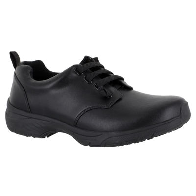 Easy Works By Easy Street Womens Peyton Lace-up Round Toe Oxford Shoes