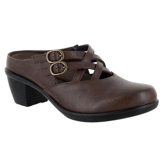 Easy Street Womens Marris Slip-on Round Toe Mules