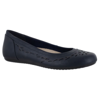 Easy Street Womens Bridget Round Toe Slip-On Shoe