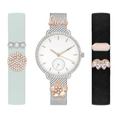 Mixit Womens Multicolor 9-pc. Watch Boxed Set-Jcp2897s569-078