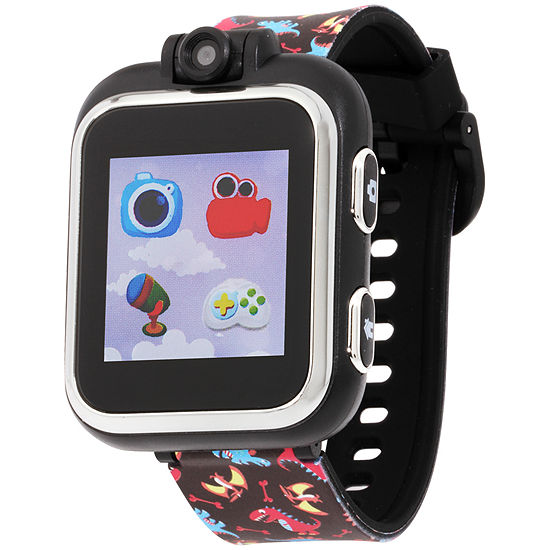 Itouch Playzoom Boys Black Smart Watch-Ipz03483s06a-Dbp