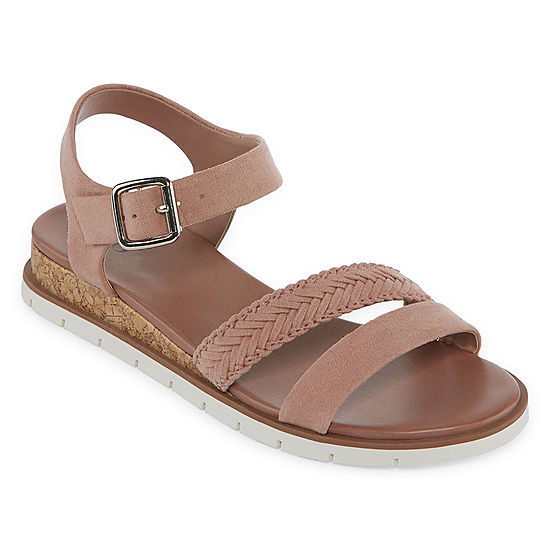 ba86bd345936 a.n.a Womens Uptown Wedge Sandals - JCPenney